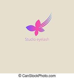 Logo studio lashes
