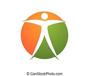 logo, sundhed