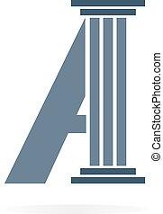 logo, symbole, ou, lettre, icône