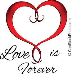 logo, symbole, saint-valentin