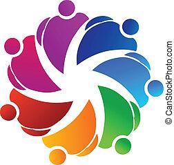 logo, teamwork, dzierżawa wręcza
