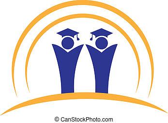 logo, teamwork, graduates
