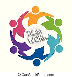 Logo teamwork people