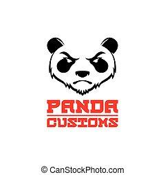 logo template panda