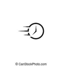 logo, temps, jeûne