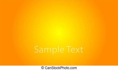 logo, texte, soleil