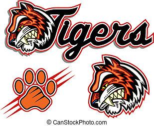 logo, tigre