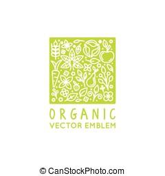 logo, vecteur, conception, gabarit