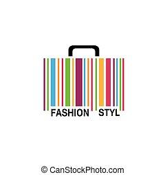 logo, vecteur, mode