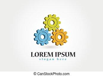 logo, vector, ontwerp, toestellen