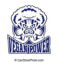 logo, vegan