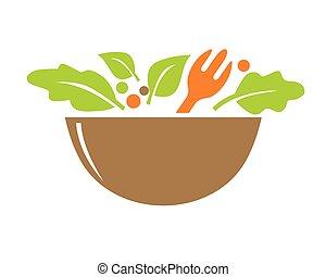 logo, vegetariër