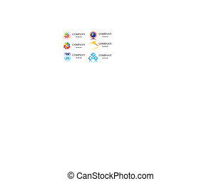 logo, vektor, firma, identitet, skabelon