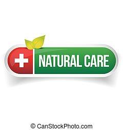 logo, vektor, natur, omsorg