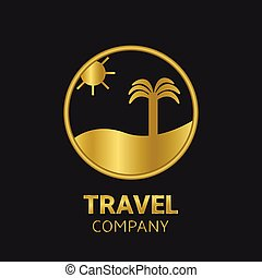 logo, voyage, compagnie