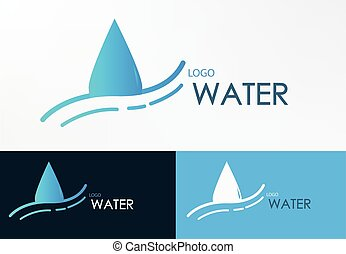 logo water line wave