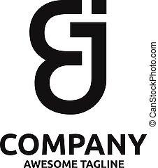 logo, webabstract, ej, brief, creatief