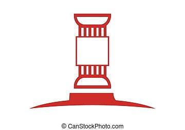 logo, wet