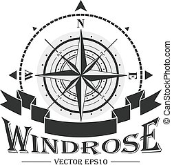 logo, windrose, collectief