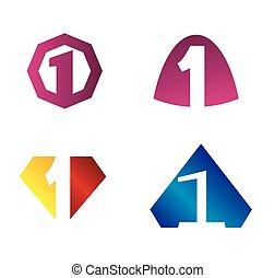 logo, zählen