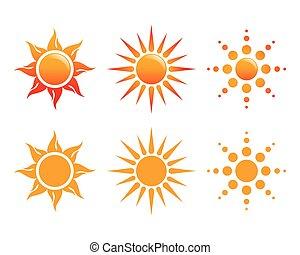 logo, zon, vector, pictogram