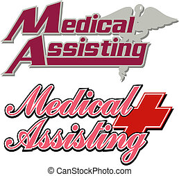 logos, медицинская, assisting