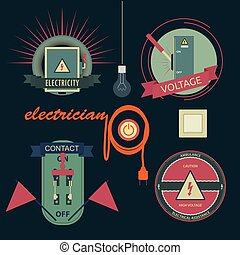 Logos of electrical equipment