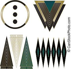 logos, ontwerp, deco, kunst, communie