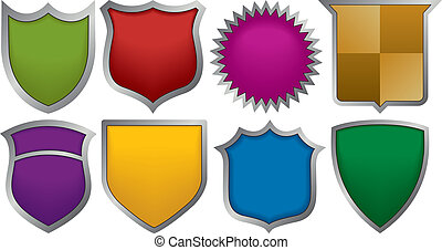 logos, otto, tesserati magnetici