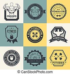 logos, sport, fitness, gymnase