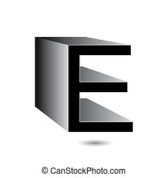 logotipo, 3d, mercado de zurique, alfabeto