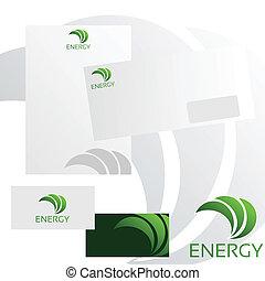 logotipo, abstratos, -