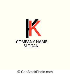 logotipo, abstratos, companhia