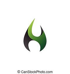 logotipo, abstratos, modernos, ícone