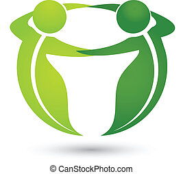logotipo, apps, folheia, equipe