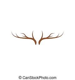 logotipo, asta, ilustration, vector