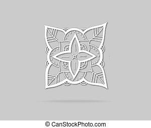 logotipo, astratto, vettore, disegno, sagoma