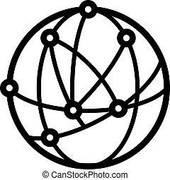 logotipo, astronomía