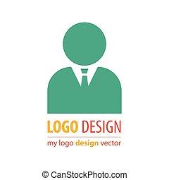 logotipo, avatar, affari