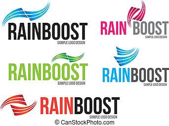 logotipo, (business), ditta, disegno, archi
