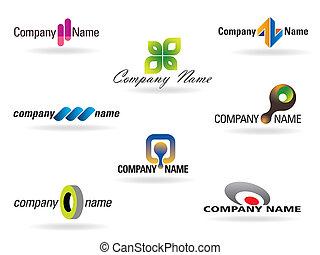 logotipo, collezione