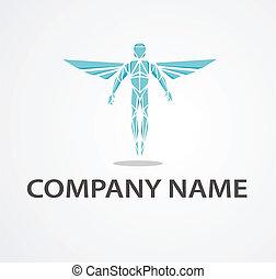 logotipo, com, chiropractor
