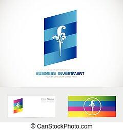 logotipo, compañía, elemento, diseño, icono