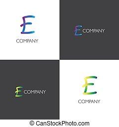 logotipo, companhia, mercado de zurique, letra
