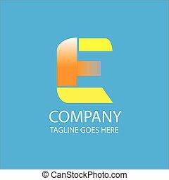 logotipo, companhia