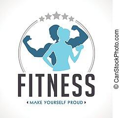 logotipo, condicão física