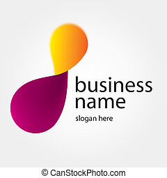 logotipo, construção, companhia