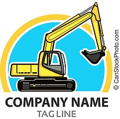 logotipo, construção