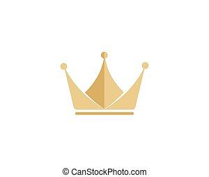 logotipo, corona