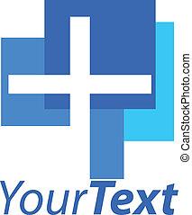 logotipo, croce